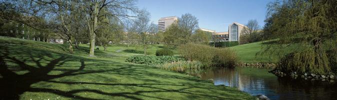 Universitetsparken.